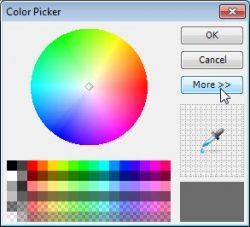 E-Maps color picker