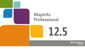 MapInfo professional 12.5