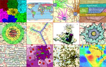 MapInfo Pro 2014 twaalf kaarten