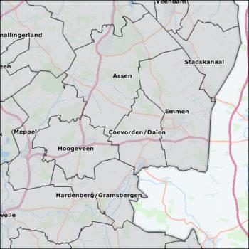 Postcode kaart