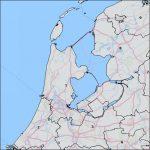 Postalcode map NL