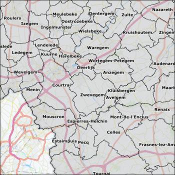 Gemeentekaart België