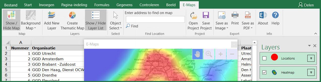 E-Maps