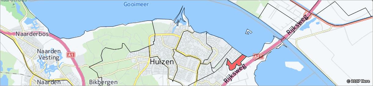 postcode gebieden Nederland