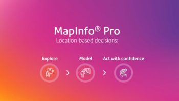 MapInfo Pro 2019 Decisions