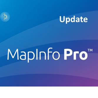 MapInfo Pro 17 update