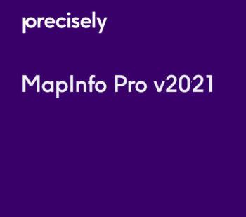 MapInfo Pro 2021 licentie voor 1 jaar